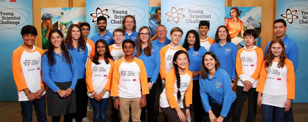 2018 Young Scientist Challenge Finalists and Mentors