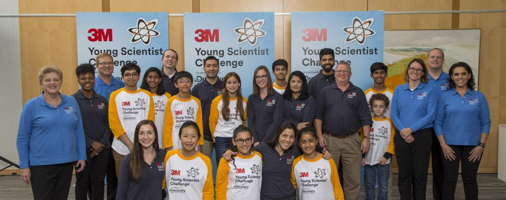 2019 Young Scientist Challenge Finalists and Mentors